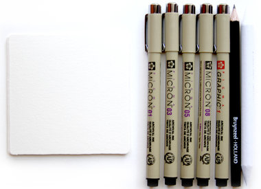 Sakura Fineliners & Markers