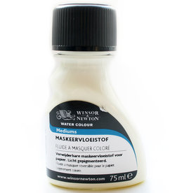 WInsor & Newton Maskeer Vloeistof Permanent W&N 75 ml Verwijderbaar (wit rubber)