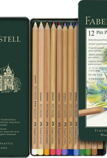 Derwent De pastelpotloden van Faber Castell zijn de beste in zijn soort. Intense pigmenten kleurechte pigmenten. Bijvoorkeur tussendoor en aan het eind fixeren met een houtskool of pastelkrijt fixatief.