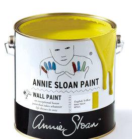 Annie Sloan Krijtverf Annie Sloan Wall Paint 2,5 Liter, English Yellow