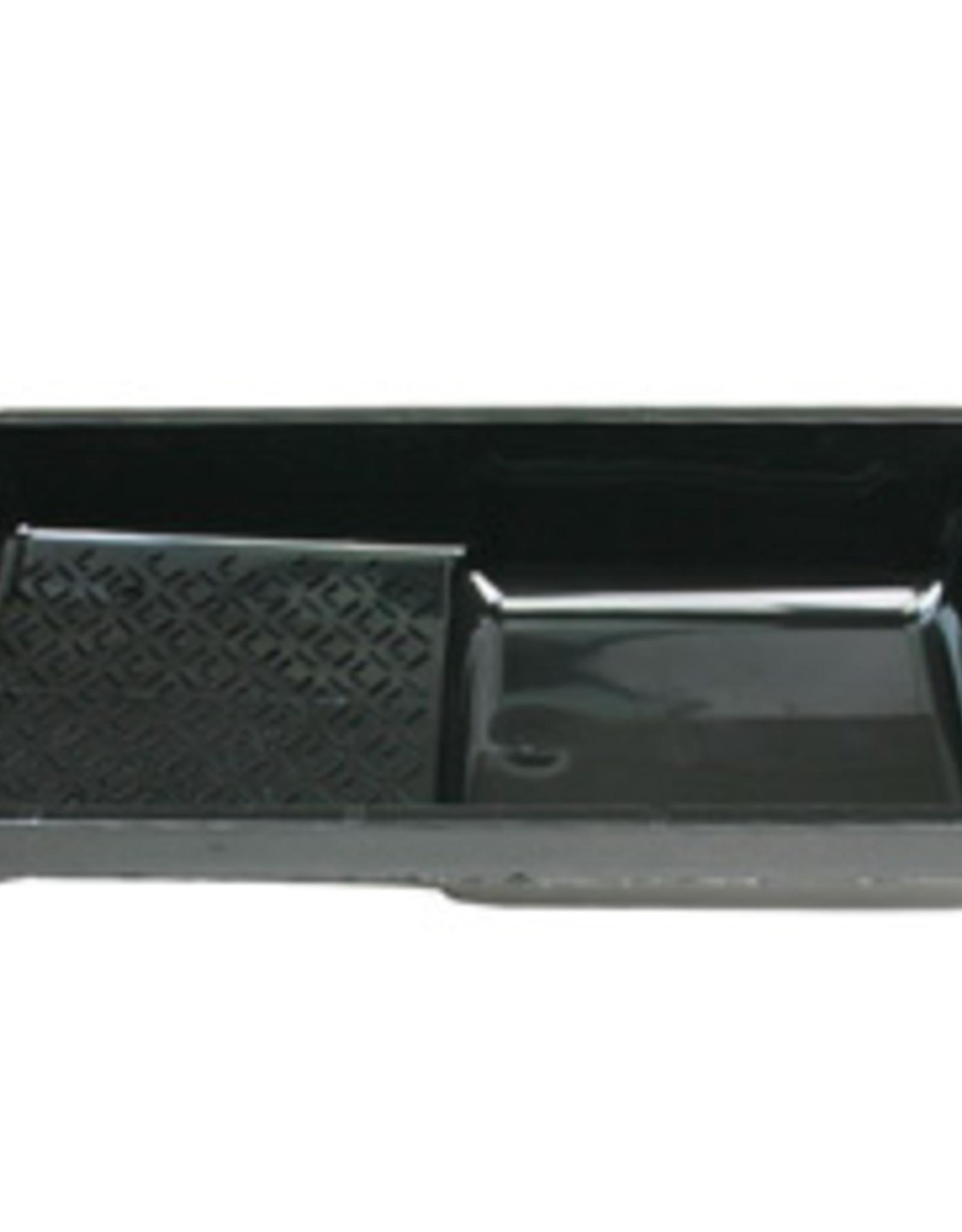 VEBA Met deze verfbak kun je de verf eenvoudig met een roller  verdelen. Verfbakken met resten watergedragen verf graag recyclen bij het plastic.