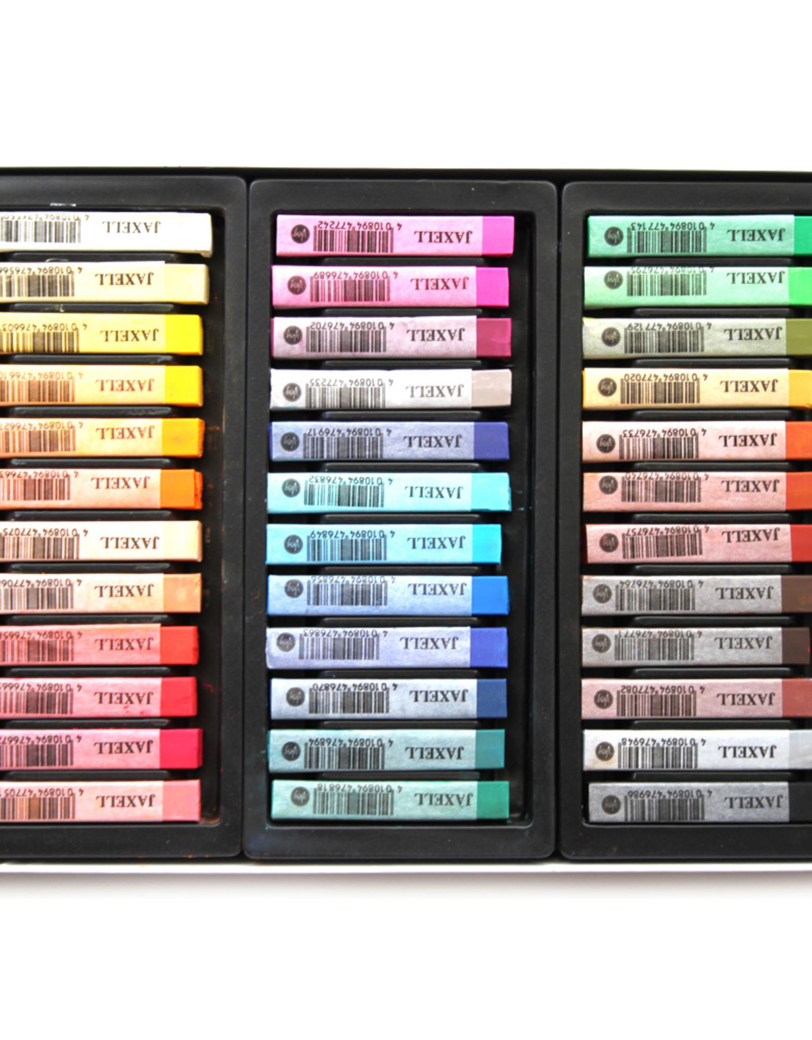 Jaxell Luxe-set Pastelkrijt Betere Studiekwaliteit Jaxell 36 pastels Assorti in kartonnen doos