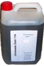 Arabische gom vloeibaar (14 gram Beaum) 5 liter flacon. Top kwaliteit. Let op imitatie-arabische gom is voor lithografie niet geschikt!