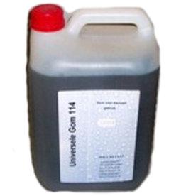 Arabische gom vloeibaar `(14 gram Beaum) 5 liter flacon. Topkwaliteit.