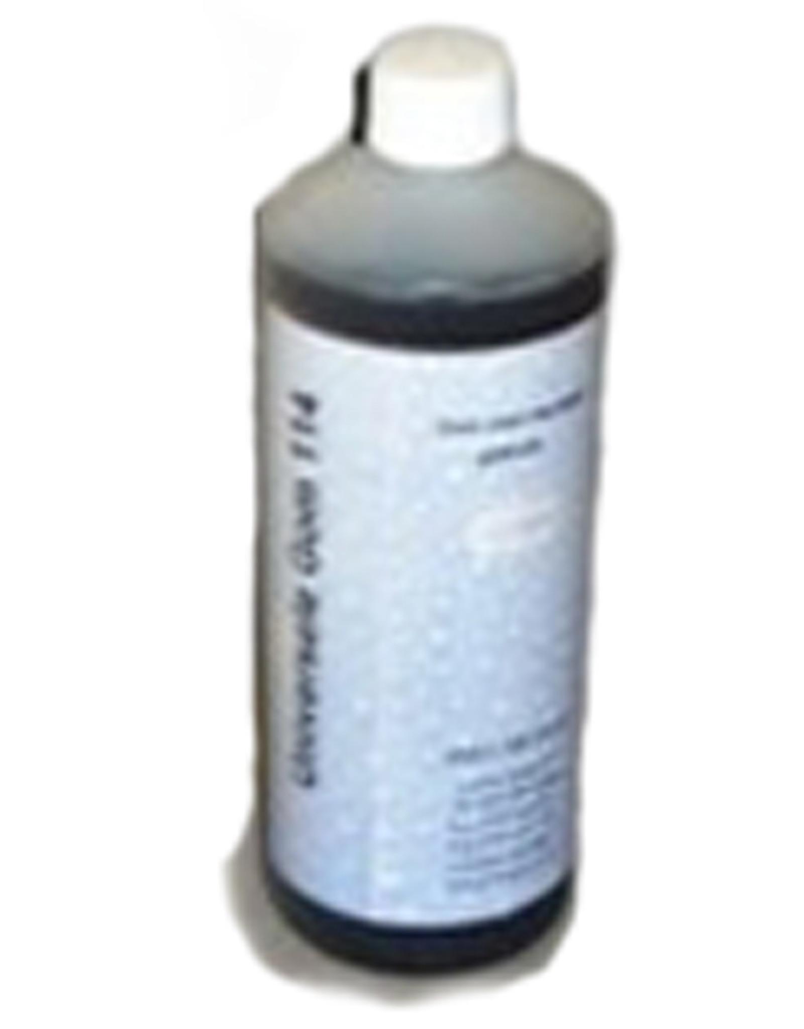 Arabische gom vloeibaar (14 gram Beaum) 1 liter flacon. Top kwaliteit. Let op imitatie-arabische gom is voor lithografie niet geschikt!