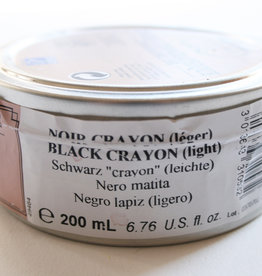 Litho Inkt Zwart Velour Diep  (no:) 200 ml Lefranc & Bourgeois / Charbonnel