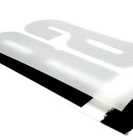 Transparant Gesatineerd Papier/ Kalkpapier Satin ruim A2 (45x64cm) ± 135 grs 25 vel