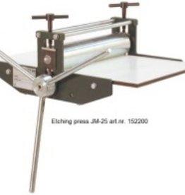 Poly Etspers atelier JM-25 drukformaat 25x45cm