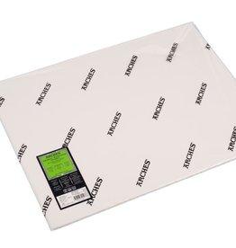 Canson 5 vel Arches Aquarelpapier wit 300grams 56x76 fijne structuur/ Koud Geperst/ Grain Fin. Verstuurd in een ruime koker.