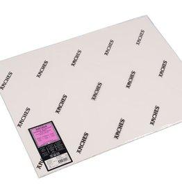 Canson 5 vel Arches Aquarelpapier wit 300grams 56x76 Zeer Fijne Korrel/ Heet Geperst/ Grain Satine. Verstuurd in een ruime koker.