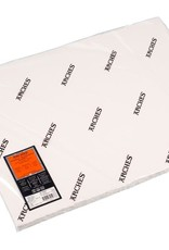 Canson 5 vel Arches Aquarelpapier wit 640 grams 56x76 ruw. Verstuurd in een ruime koker.