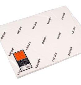 Canson 5 vel Arches Aquarelpapier wit 640 grams 56x76 ruwe structuur/ Grain Torchon. Verstuurd in een ruime koker.