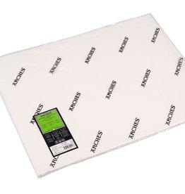 Canson 5 vel Arches Aquarelpapier wit 640 grams 56x76 fijne structuur/ Koud Geperst/ Grain Fin. Verstuurd in een ruime koker.