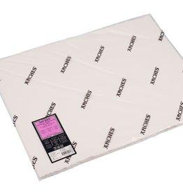Canson 5 vel Arches Aquarelpapier wit 640 grams 56x76 Zeer Fijne Korrel/ Heet Geperst/ Grain Satine. Verstuurd in een ruime koker.