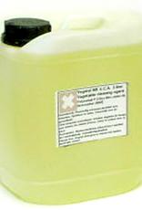 VCA Handige een milieuvriendelijk oplossmiddel voor inkten op oplosmiddelbasis. Dit werkt sneller dan schoonmaken met slaolie. Het is een stuk minder schadelijk dan terpentine, terpentijn, zest-it of aanverwante middelen. Let wel het bevat nog steeds een lich