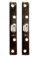Larson Juhl 10 stuks schroefplaatjes 89 mm plus 40 schroefjes