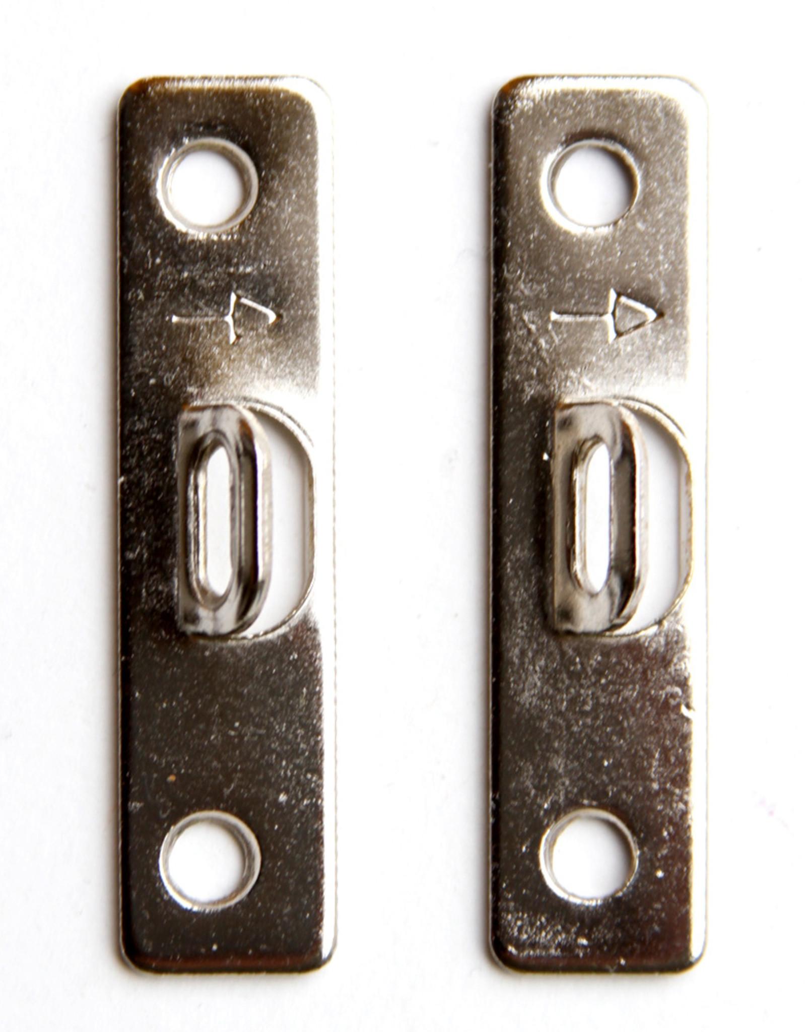 Larson Juhl 10 stuks schroefplaatjes 51 mm plus 20 schroefjes