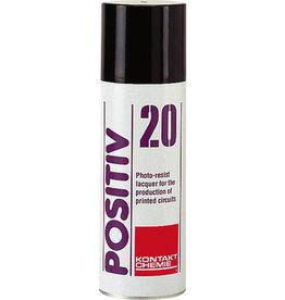 Foto Polymeer Spuitbus (Aerosol) 200 ml Sprayen op 30 cm afstand van etsplaat