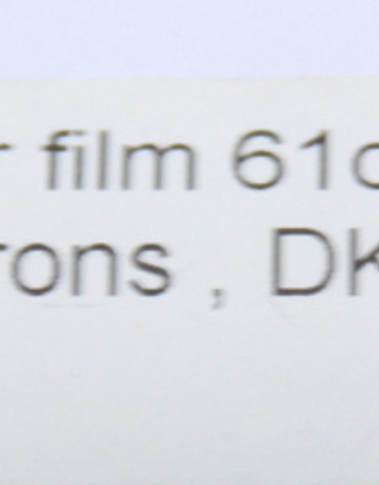 Foto Polymeer film DK3 61cm x 500cm Dikte 50 micron