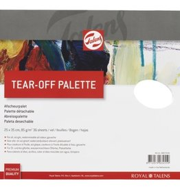 Talens Afscheur paletten, 36 vel, 25x35 cm, Talens, Tear-off palette