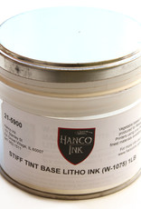 Hanco Hanco lithografische inkt, Stiff Tint Base (inkt-basis dik) 21-5900 (W-1075) blik 0,5 kg