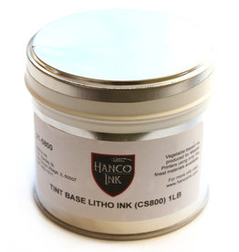 Hanco Hanco lithografische inkt, Tint Base, (inkt-basis) 21-5800 (W-1075, CS-800), blik 0,5 kg