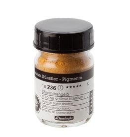 Schmincke Pigment 50 ml Chrome Yellow Titanium/ Chromaat Titaangeel no 236 Schmincke !PAS OP GIFTIG!