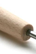 Abig Etsnaald Abig no 190•••, houten handvat totaal 18 cm lang
