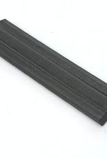 Reisaco Tacker slaat buigbare lipjes (Flexipoints) half in de achterkant van een lijsten maakt het tot wissellijst