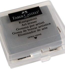 Faber-Castell Kneedum Faber-Castell, voor houtskool/ potlood, grijs zacht