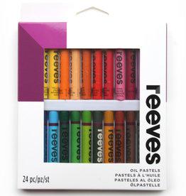 Reeves Set Oliepastel Schoolkwaliteit Reeves pastels Assorti in kartonnen doos