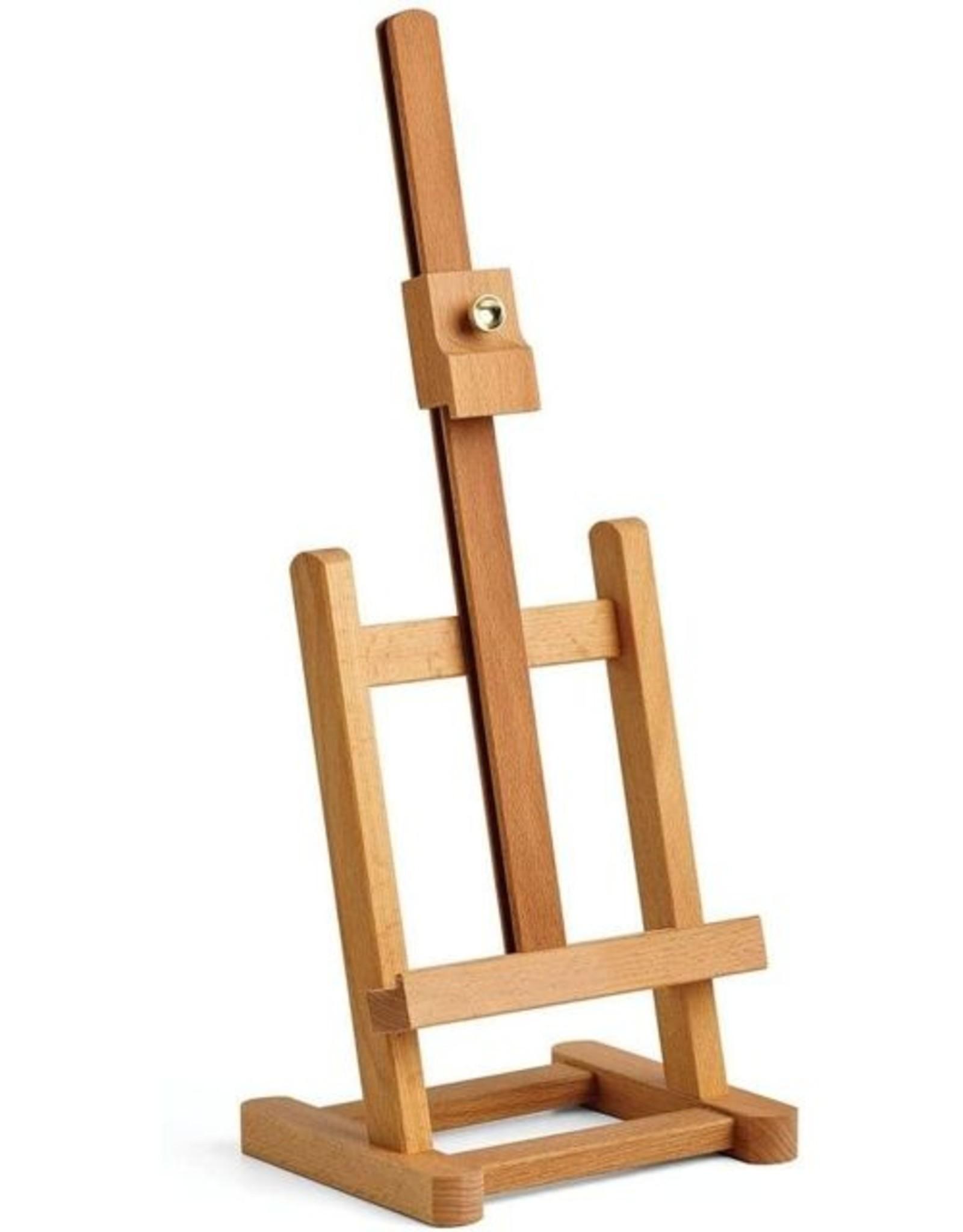 COLART Mini Tafelezel/ table easel RHINE, 26x13,5cm max doekhoogte 30cm