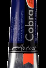 Talens Olieverf waterverdunbaar Talens Cobra Artist, 40ml Phtalo Blauw Violet/ Blue Violet Hue (Phtalo) 568/3