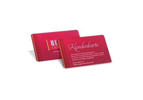 HEINI Luzern Geschenkkarte im Wert von CHF 50