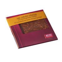 Schokoladen-Rondelle mit Mandeln