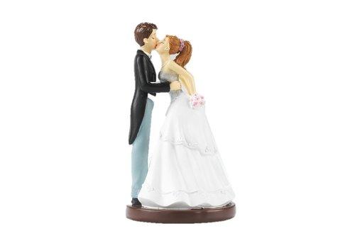HEINI Luzern Küssendes Brautpaar
