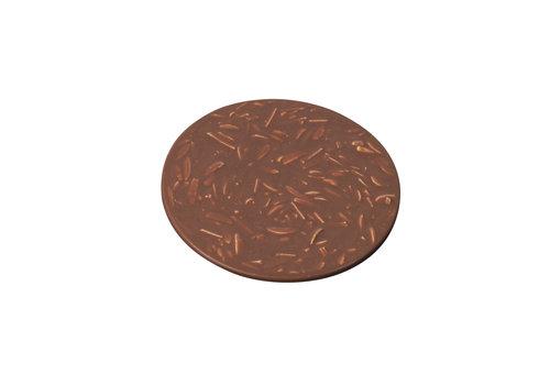 HEINI Luzern Schokoladen-Rondelle mit Mandeln