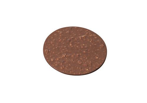 HEINI Luzern Schokoladen-Rondelle mit Haselnüssen