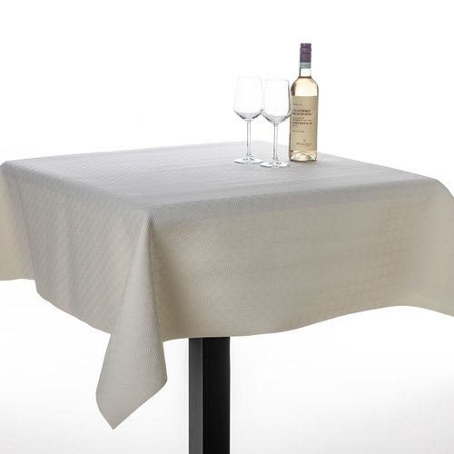 Table protector uni white embossed