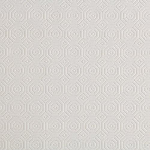 Tafelbeschermer uni - wit embossed rol van 140cm x 20mtr.