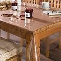Transparant tafelzeil 0.20mm - 140cm x 30mtr
