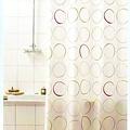 Duschvorhang Textil Kreis