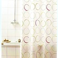 Shower curtain textile Circle