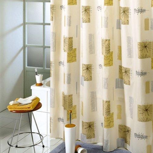 Shower curtain  textile contrasti