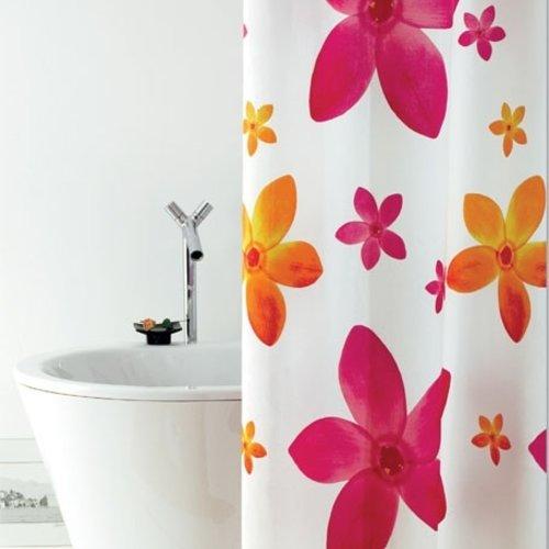 Shower curtain textile Dafne