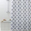 Shower curtain pvc Rombo