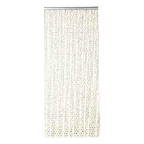 Door curtain Tubes 90x210 cm ecru