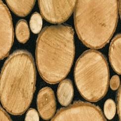 Plakfolie houtblok verpakt per 6 rollen