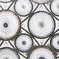 Static window film 90 cmx20 m. circles