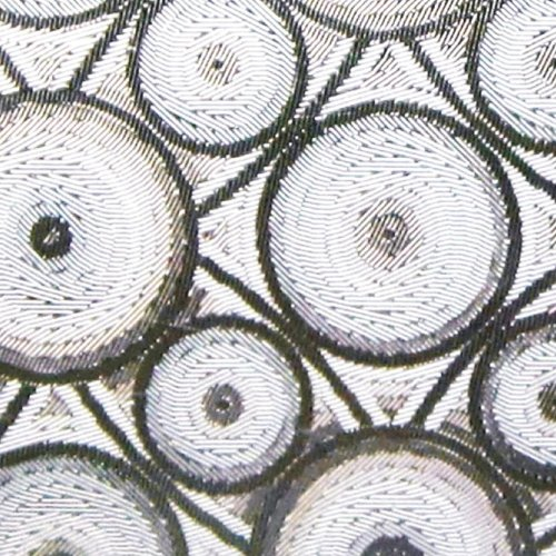 Raamfolie statisch-anti inkijk-90cmx20mtr. circles